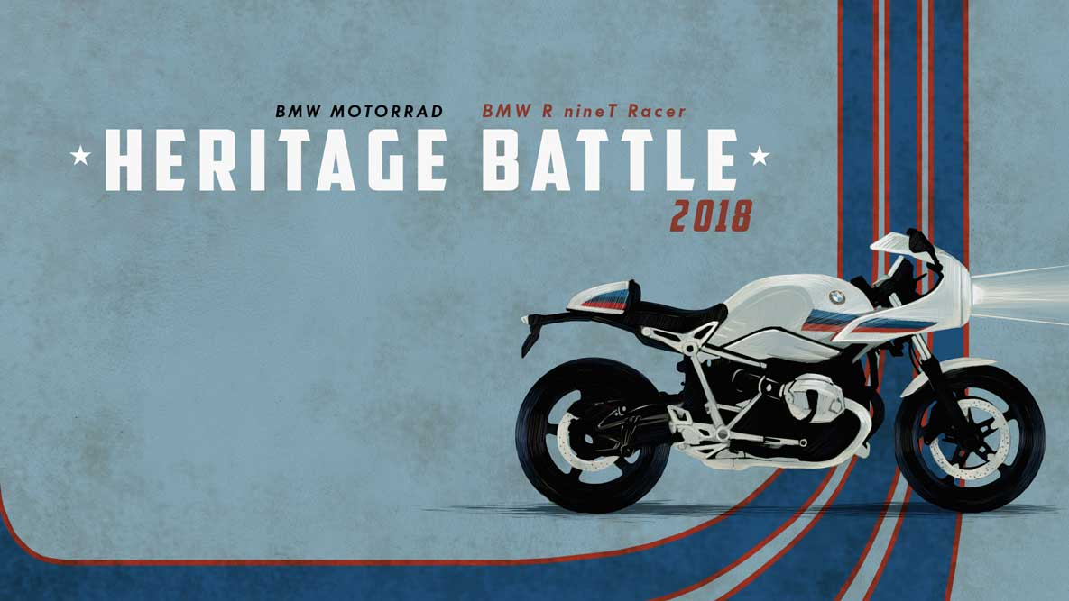 BMW Motorrad запускает Heritage Battle.